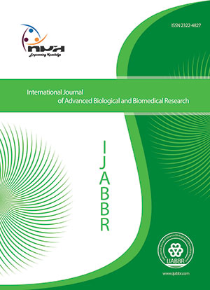 International Journal of Advanced Biological and Biomedical Research
